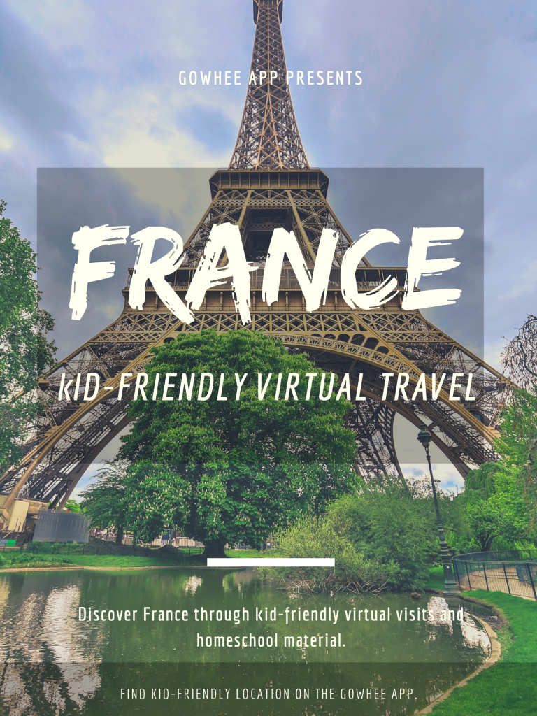 Kid-Friendly Virtual Travel - Homeschool, worldschool activities to learn about india. #homescool #worldschool #kidfriendly #virtualtravel #France #Paris #kidsactivities