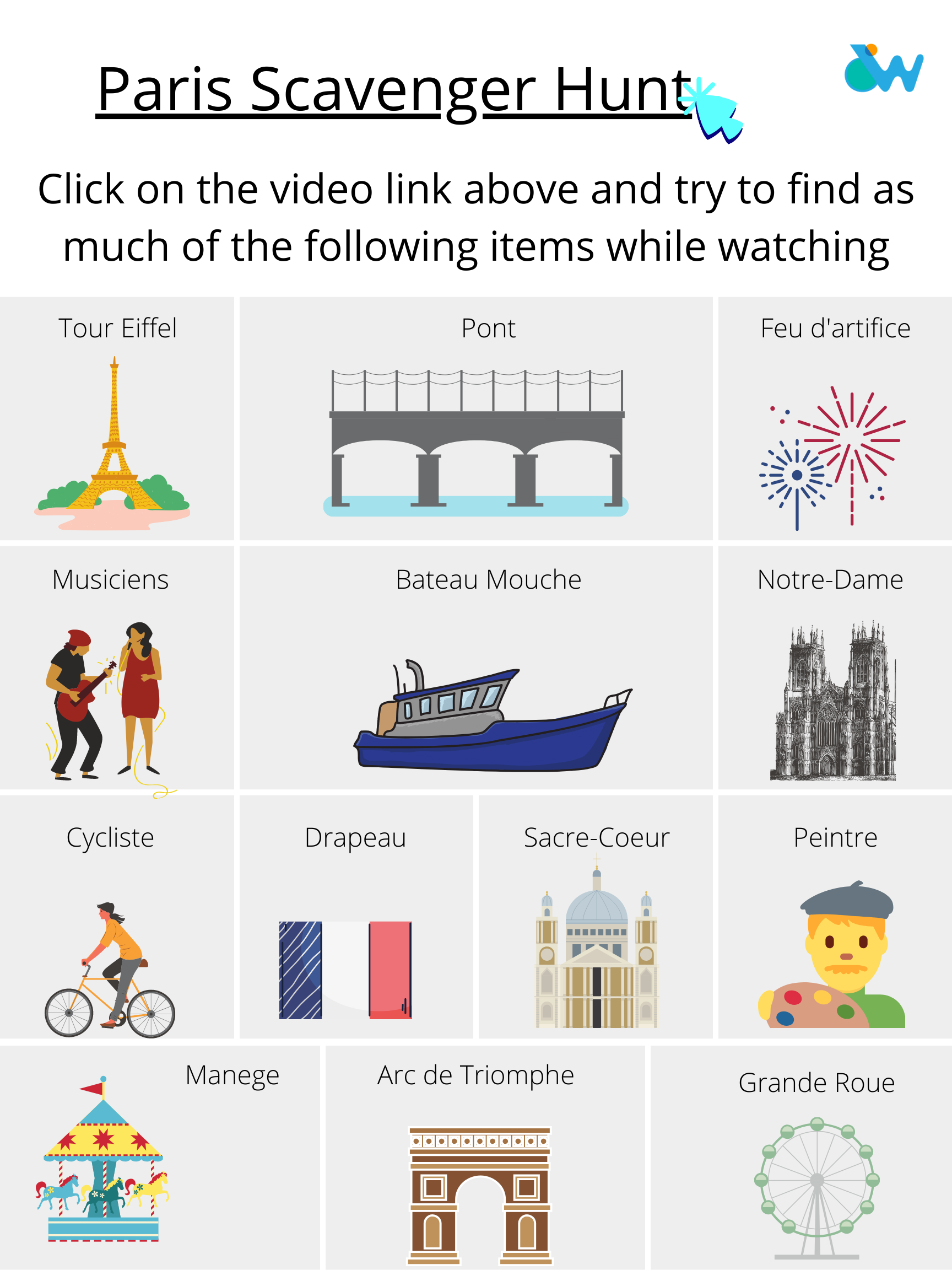 Kid-Friendly Virtual Travel - France